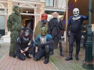 Halloween 2019 in de binnenstad van Almelo